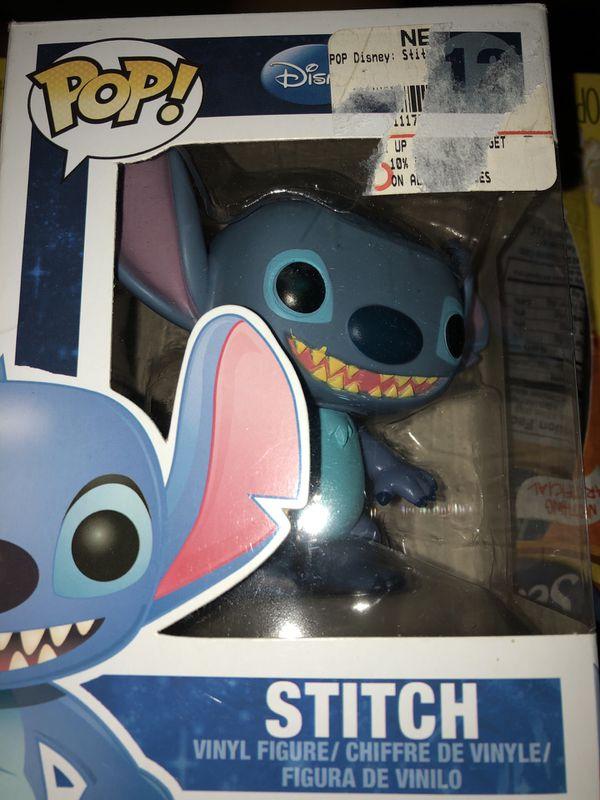 pop toy collection. stitch