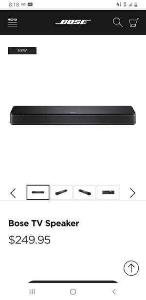 Bose tv speaker for Sale in Modesto, CA