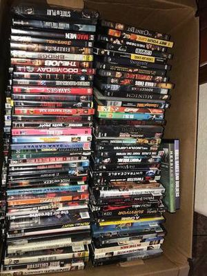 Great gift over 230 DVD s all sorts of titles all or nothing for Sale in Moreno Valley, CA