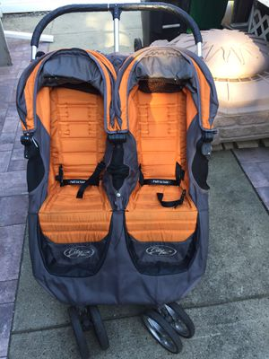 Baby Jogger City Mini Double Stroller for Sale in Chicopee, MA
