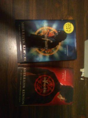 Sherrilyn Kenyon hardcover (2) books for Sale in Tampa, FL