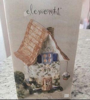 New in box Ceramic Garden Villa Night-Light House. Lightbulb included for Sale in Tulsa, OK