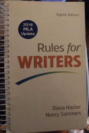 Rules for Writers for Sale in Washington, DC