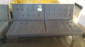 Grey Futon for Sale in Dallas, TX