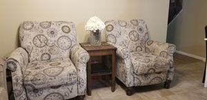 2 beautiful recliners for Sale in Fairfax, VA