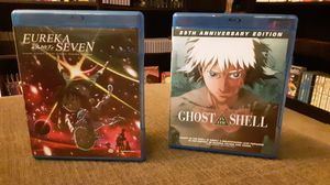Eureka Seven and Ghost in The Shell Anime Blu Ray for Sale in Durham, NC