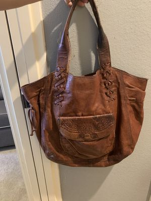 Lucky Brand Leather Tote for Sale in Las Vegas, NV