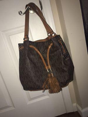 Brown leather mk purse for Sale in Detroit, MI