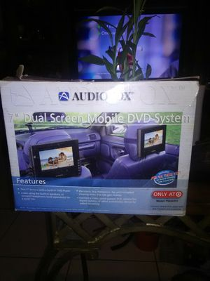 "7"" Daul Screen Mobile DVD System for Sale in Hialeah, FL"