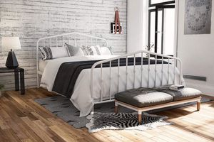 Full Size Metal Bed Frame (Mattress Sold Separate) for Sale in Houston, TX