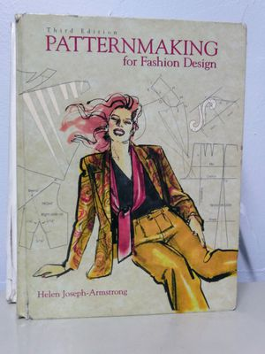 Pattern making book ISBN 0-321-03423-6 for Sale in Los Angeles, CA