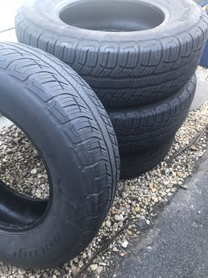 BF good rich advantage T/A Sport LT tires size 235/70R/16 for Sale in Bethlehem, PA