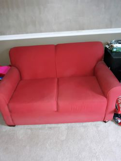OSU theme sleeper sofa and love seat (2 pieces of furniture) for Sale in GRANDVIEW,  OH