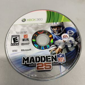 Madden NFL 25 For Xbox 360 Disc Only Video Game for Sale in Camp Hill, PA
