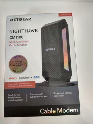 Netgear Nighthawk CM 1100 for Sale in Fort Lauderdale, FL