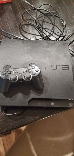 Play station 3 casi nuebo trabaja muy vien for Sale in Fresno, CA
