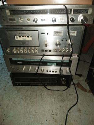 All of them for one price old school stereo receivers for Sale in Kent, WA