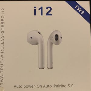 I12 Wireless Earbuds Bluetooth Headphones for Sale in Pittsburgh, PA