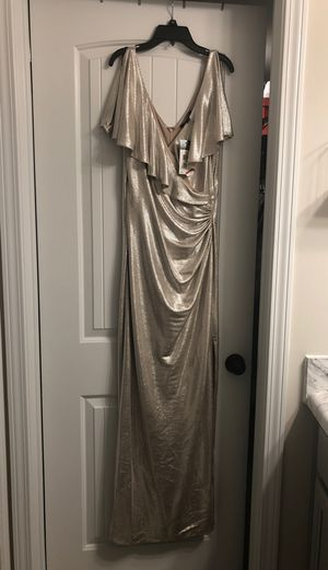 Ralph Lauren Champagne Gold Dress for Sale in Atlanta, GA