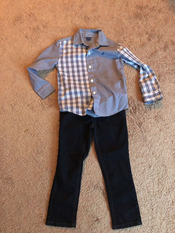 Boys 4t Nautica outfit