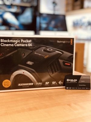 Available Limited TIME BlackMagic 6K Only @Mojo for Sale in Placentia, CA