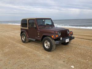2001 Jeep Wrangler Sahara for Sale in Midlothian, VA