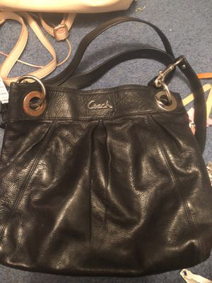 Coach Purse Black for Sale in Axtell, NE