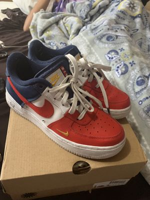 Independence Day Nike low AF1s for Sale in Seattle, WA