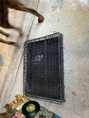 Collapsible dog kennel/cage for Sale in Stockton, CA