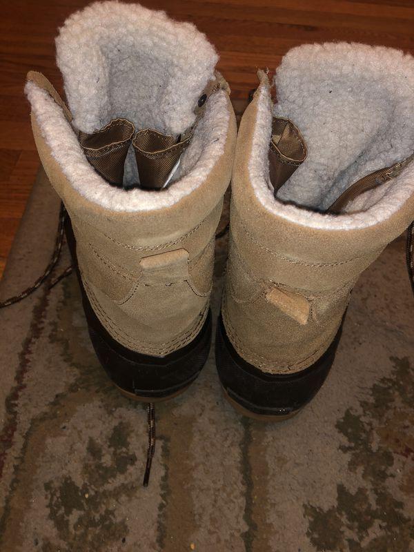 Men's winter boots (lands End) size 10
