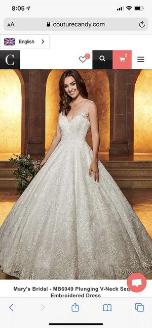 Mary's Bridal White Beaded Wedding Dress for Sale in Tucson, AZ