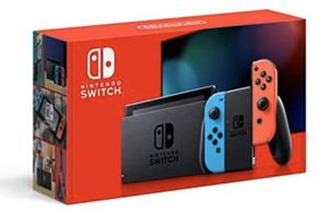 Nintendo Switch with Neon Blue and Neon Red Joy‑Con - HAC-001(-01) for Sale in Iowa City, IA