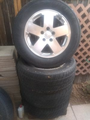 Jeep Rubicon rims 5x5 for Sale in Chandler, AZ