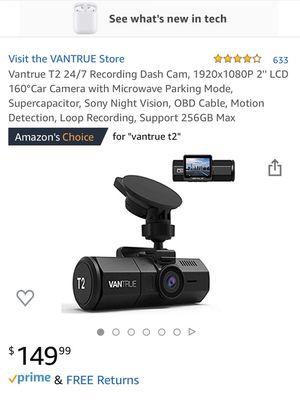 Dashboard camera (Vantrue t2) for Sale in Murrieta, CA