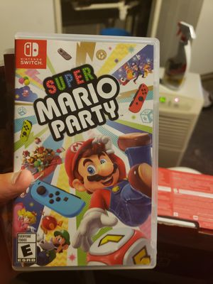 Nintendo Switch Super Mario Party for Sale in Waterbury, CT