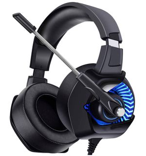 Brand New Seal in Box 7.1 Surround Sound Gaming Headset for PS4, PC, Xbox One, Stereo Headphones for Laptop, Mac, Nintendo Switch with LED Lights, No for Sale in Hayward, CA