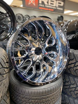 33 1350 24 MONKEY RIMS AND TIRES for Sale in Phoenix, AZ