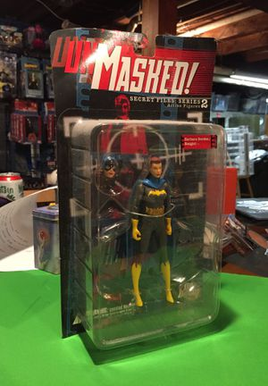 Batgirl Barbara Gordon Action Figure Series 2 DC Direct Unmasked Secret Files for Sale in Tacoma, WA