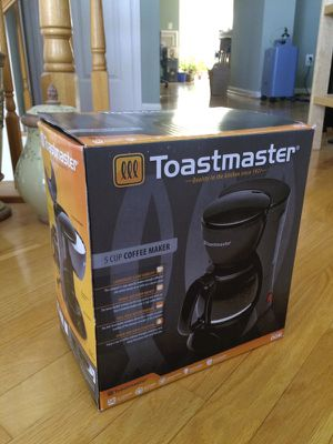 Toastmaster 5-Cup Coffee Maker for Sale in Alexandria, VA