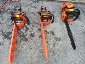 ECHO 60cc and two 40.2cc saws for Sale in Middleborough, MA