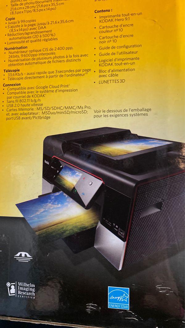 Kodak Hero 9.1 All-in-One Printer review: Kodak Hero 9.1 All-in-One Printer