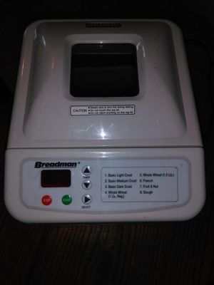 Bread maker for Sale in Barstow, CA