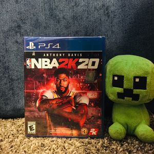 NBA 2K 20 for PlayStation PS4 for Sale in Garland, TX