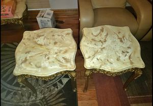 Very Heavy Marble coffee table set for Sale in New Orleans, LA