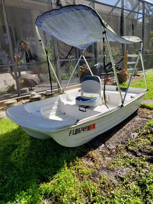 Water Tender hull Tohatsu 5hp 4 stroke motor for Sale in Fort Myers, FL