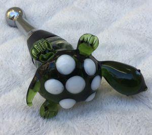 New ~ Glass Turtle Wine Bottle Stopper for Sale in Fresno, CA