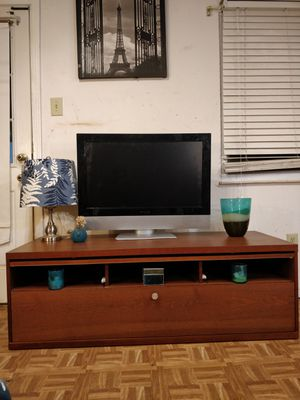 """Nice big TV stand with drawers for big TVs in great condition, all drawers working well. L57""""*W23""""*H19"""" for Sale in Annandale, VA"""