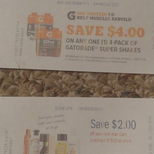Free coupons to use at meijer for Sale in New Baltimore, MI