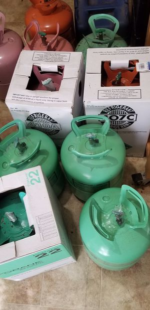 5 jugs of R22 350ea obo no lowball offers for Sale in Largo, FL