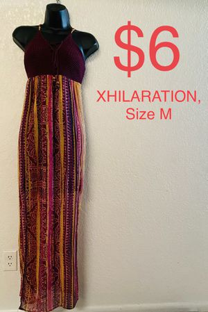 XHILARATION, Maxi Multicolored Dress, Size M for Sale in Phoenix, AZ